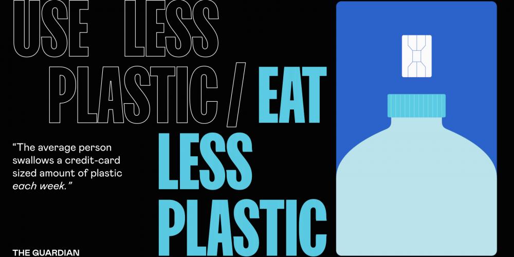 Esta campaña ilustra la cantidad de plástico que comemos cada semana sin que nos demos cuenta