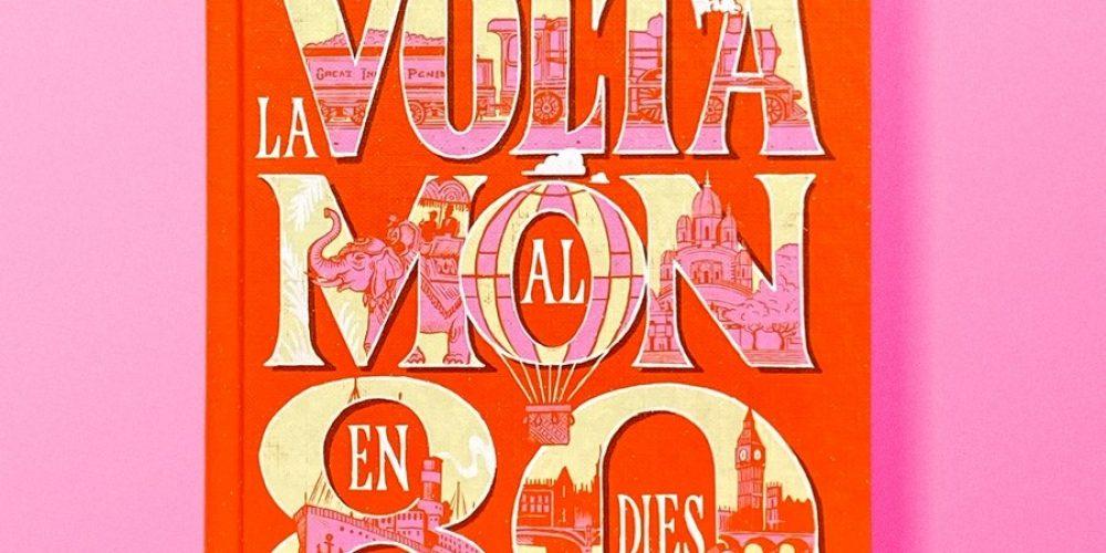Vasava reinterpreta las portadas de novelas clásicas infantiles combinando tipografía e ilustración