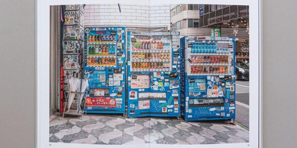 Un libro que explora el colorido y extravagante mundo de las máquinas expendedoras japonesas