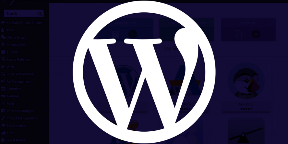 Cómo crear una web en WordPress usando Softaculous
