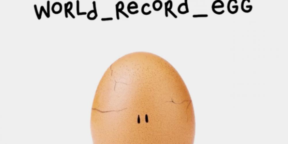 El huevo más famoso de Instagram lanza su primera campaña sobre salud mental