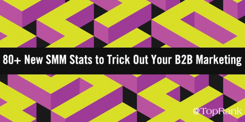80+ New Social Media Marketing Statistics for B2B Marketers