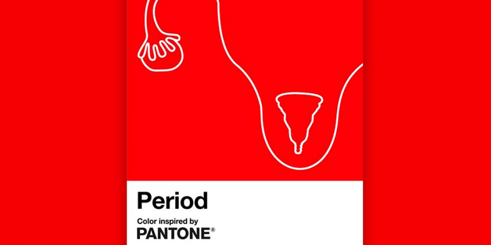 Pantone lanza Period, un tono rojo para romper los estigmas sobre la menstruación