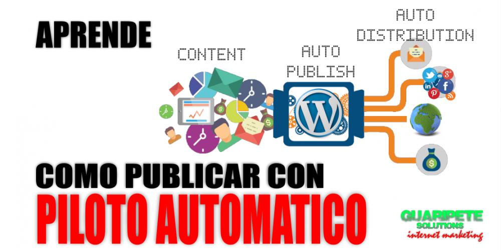 Como Automatizar WordPress | Martes Noviembre 12 2019