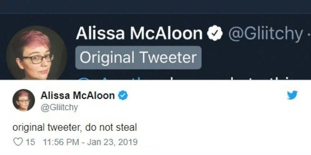 Twitter está probando una nueva etiqueta para identificar el autor de un hilo