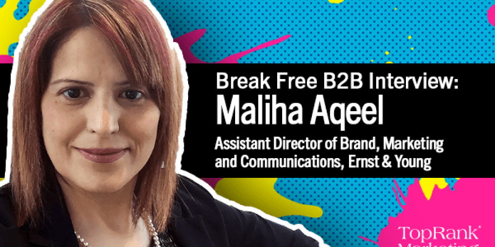 Break Free B2B Series: Maliha Aqeel on How to Ace B2B Company Culture