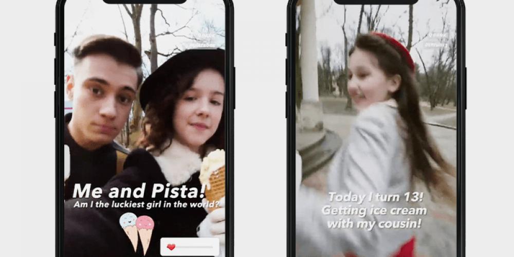 La historia de una niña víctima del Holocausto cobra vida en Instagram Stories