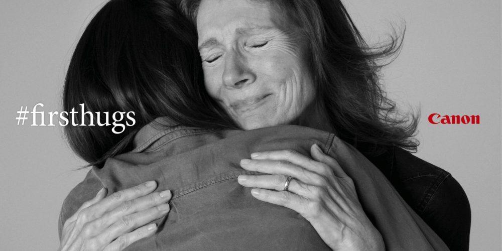 Canon retrata los primeros abrazos tras la cuarentena en esta bonita campaña