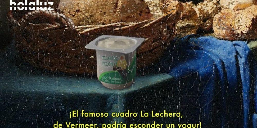"""¿Han encontrado un envase de yogur en el cuadro """"La Lechera""""? Un vídeo para reflexionar en el #DíaMundialDelReciclaje"""