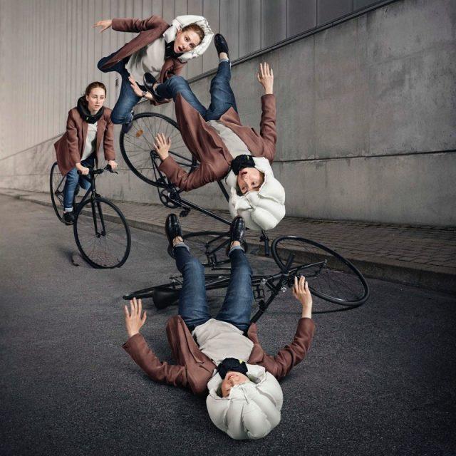 El casco para ciclistas más seguro del mundo actúa como un airbag para la cabeza