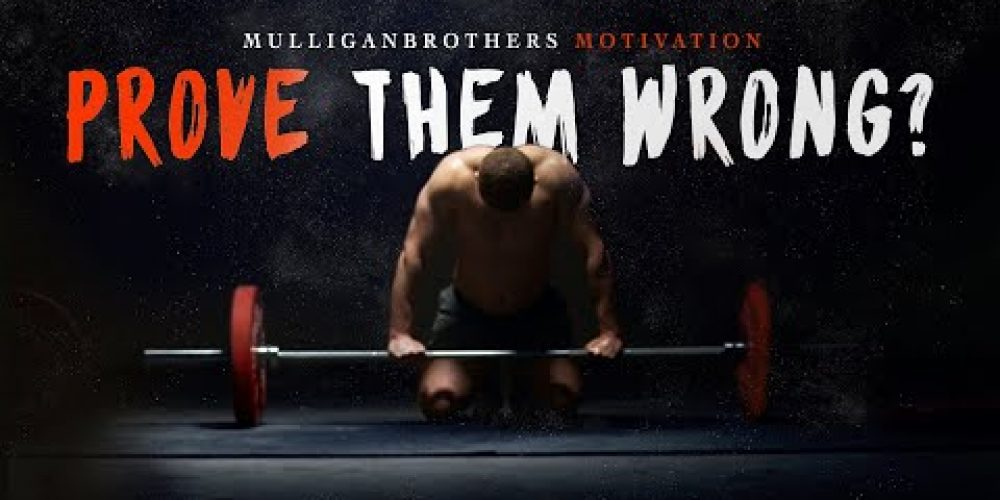 THEY SAY YOU CAN'T – Most Motivational Video Speech