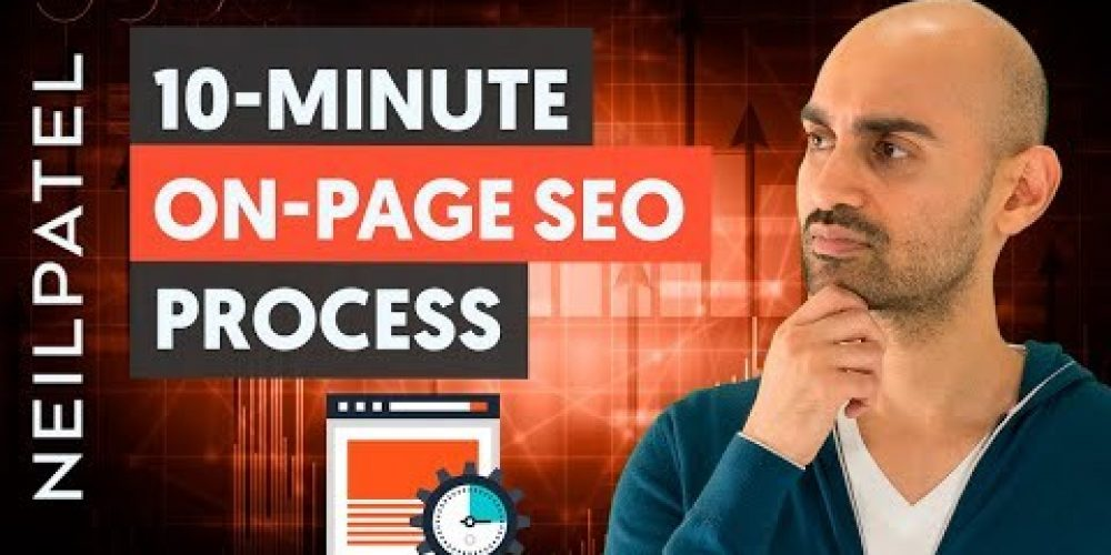 How to Optimize Your On-Page SEO in Less Than 10 Minutes