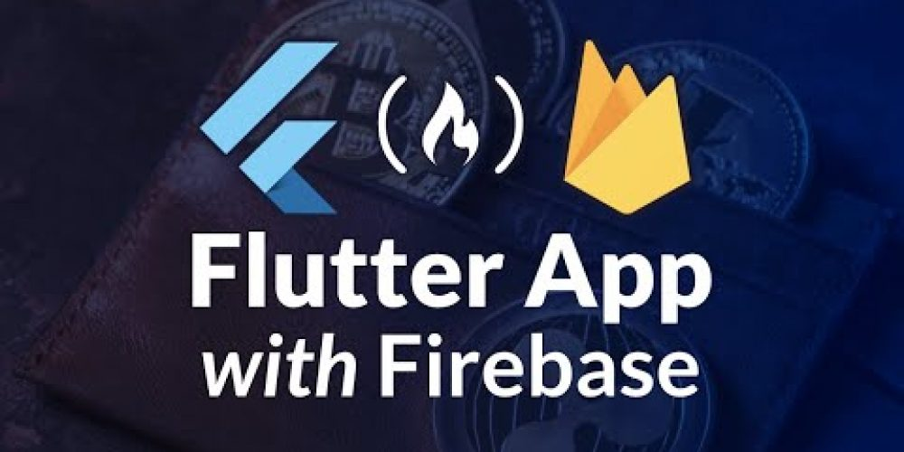 Flutter App with Firebase Authentication and Firestore Tutorial – Crypto Wallet