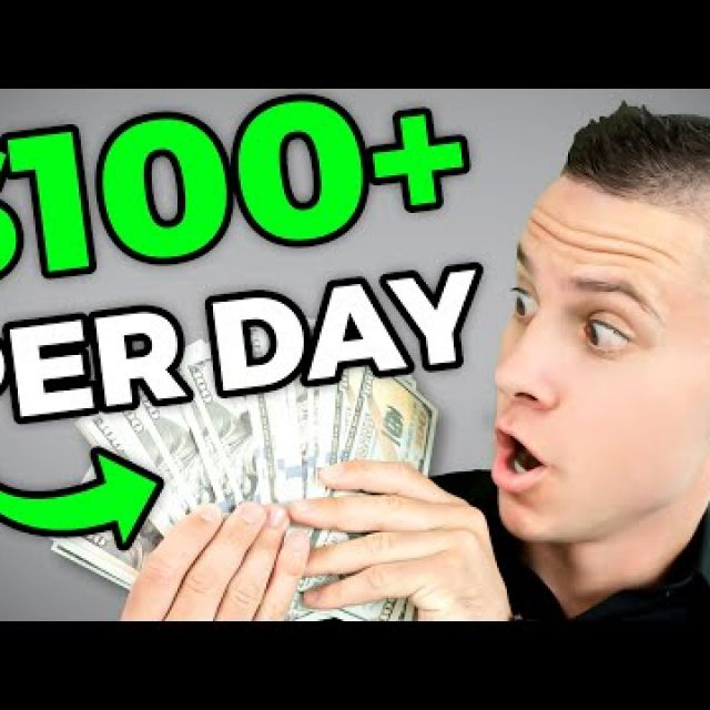 Make $100 Per Day From The Comfort of Your Home (worldwide)