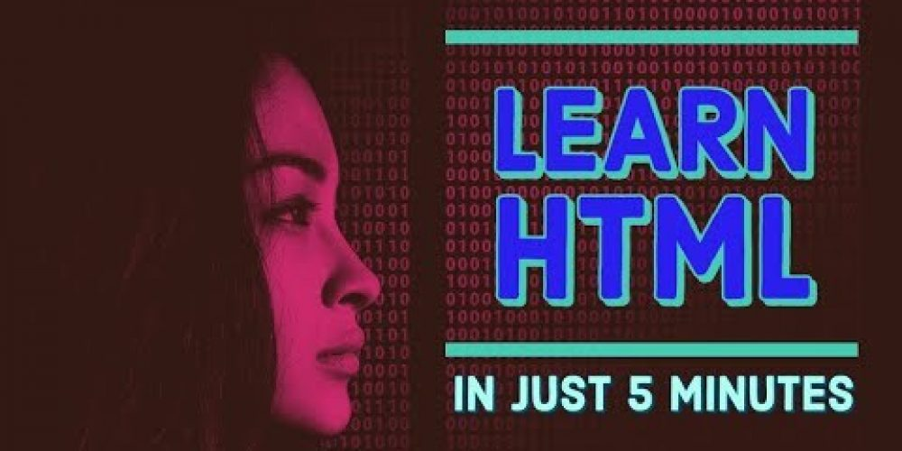 Learn HTML in just 5 minutes
