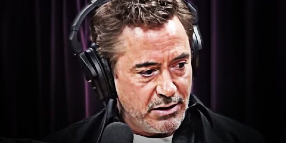 Robert Downey,  Jr. – Don't Chase That Thing | A Speech All Of Us Should Hear Once!