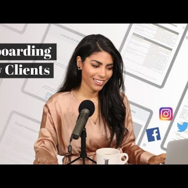 New Client Onboarding Process | Freelance Social Media Manager