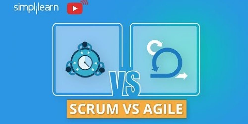 Scrum vs Agile | Scrum And Agile Difference | Agile Scrum Master Training | Simplilearn