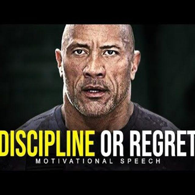 DISCIPLINE OR REGRET – Best Motivational Video