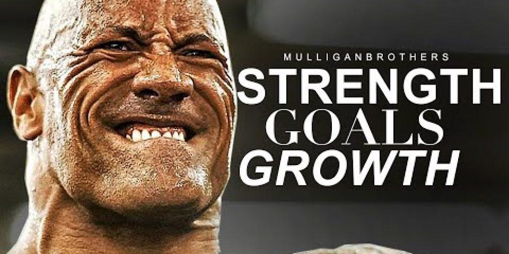 STRENGTH, GOALS, GROWTH – Best Motivational Video