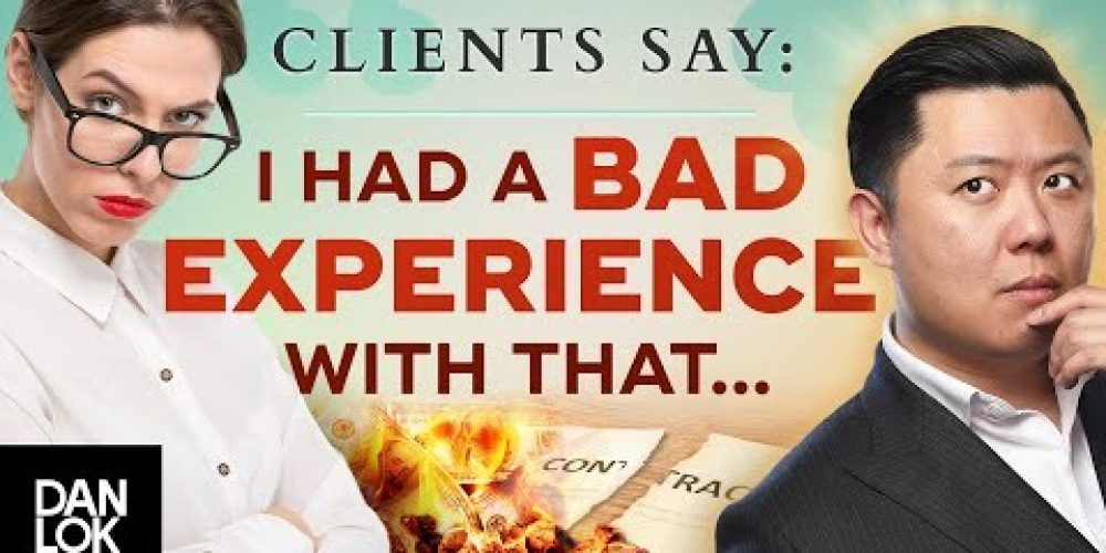 "Clients Say, ""I Had A Bad Experience With A Similar Product"" And You Say ""…"""