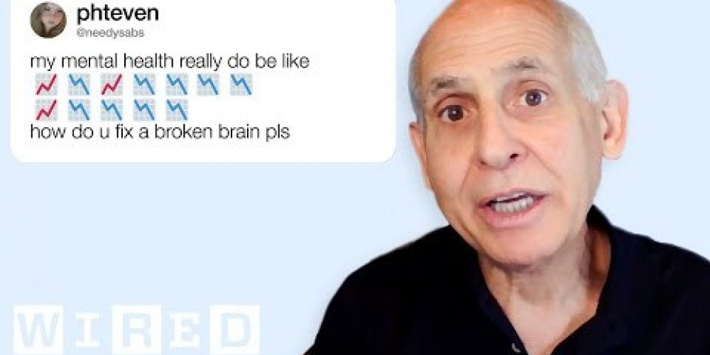 Psychiatrist Daniel Amen Answers Brain Questions From Twitter | Tech Support | WIRED