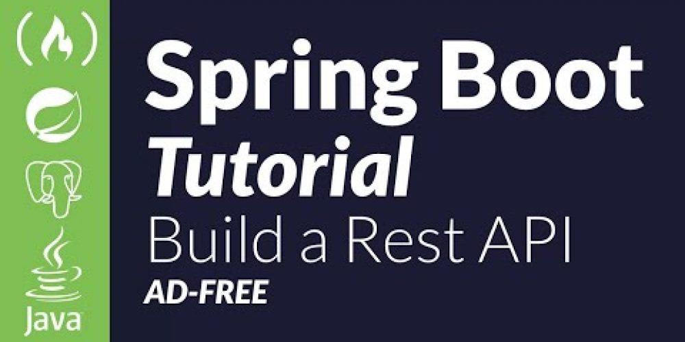 Spring Boot Java Tutorial – REST API using PostgreSQL and JWT
