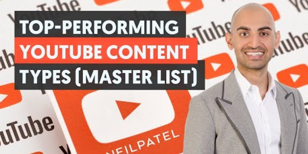 Top-Performing Content Types for YouTube (The MASTER LIST) – Module 1 – Lesson 3 – YouTube Unlocked