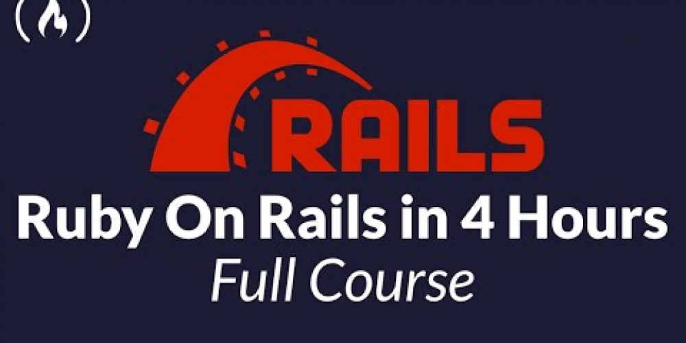 Learn Ruby on Rails – Full Course