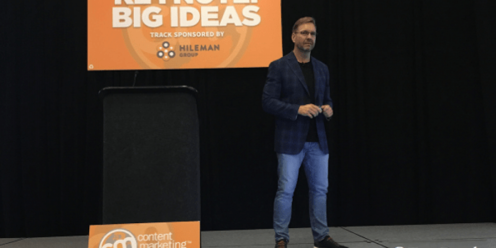 Lee Odden Shares His Secret to Content Marketing Fitness #CMWorld