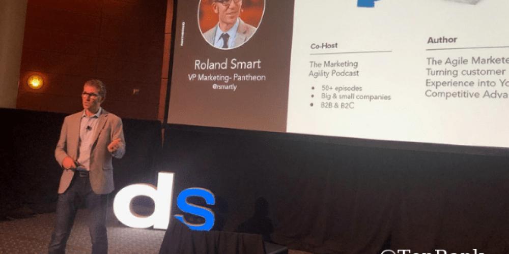 Pantheon's Roland Smart Details the Secret to Agile Marketing Transformation #DSMPLS