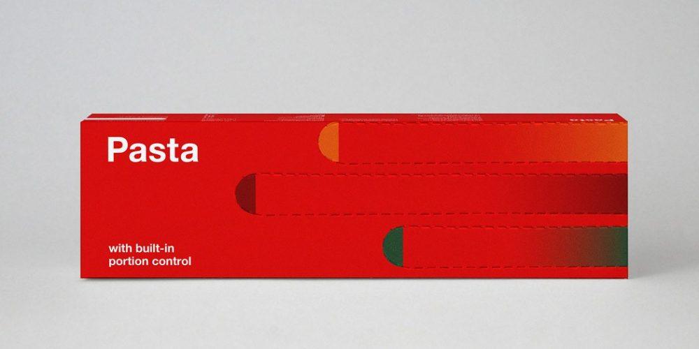 Un packaging de espaguetis con medidor de raciones para que siempre cocines la cantidad perfecta