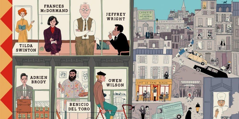 """El póster de la película """"The French Dispatch"""" es uno de los mejores del año (y solo estamos en febrero)"""