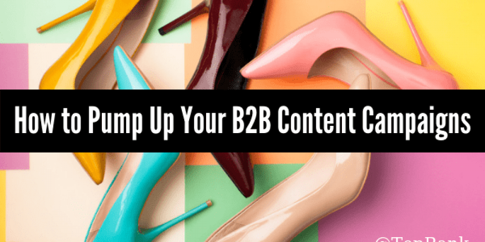 Pump it Up: How to Maximize Your B2B Content Marketing Campaign Investments