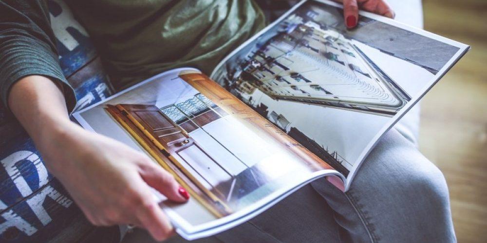 ¿Cuál es el funcionamiento de la impresión de las revistas online?