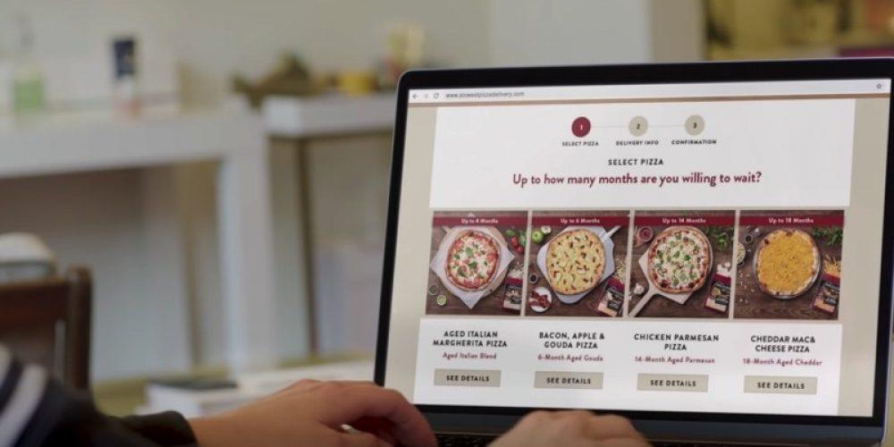 Esta marca ha lanzado el servicio de pizza más lento del mundo porque elaborar un buen queso necesita tiempo