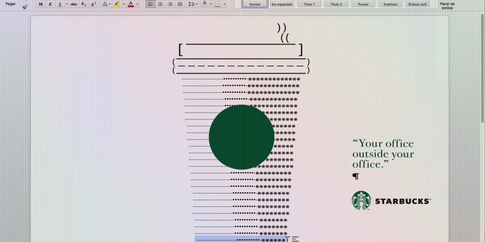 Estas gráficas de Starbucks están diseñadas en Excel, Word y Power Point