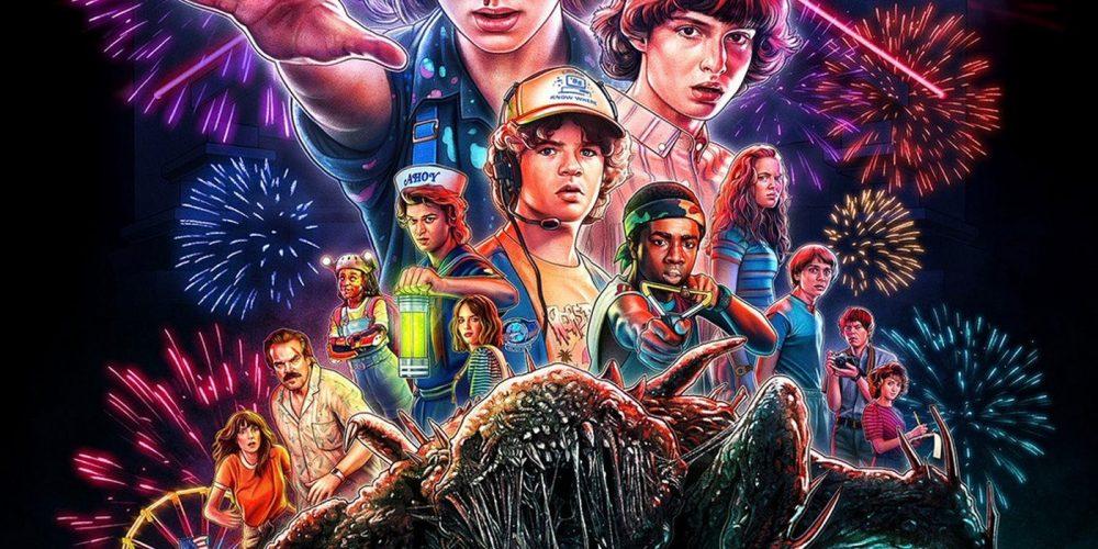 "Así se hizo el póster de la 3º temporada de ""Stranger Things"""