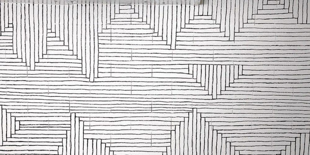 Los murales geométricos de Tanya Heidrich