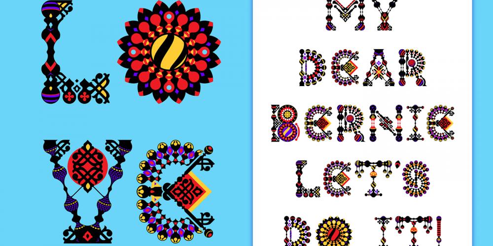 Adobe regala fuentes coloridas por San Valentín #ColorFontWeek