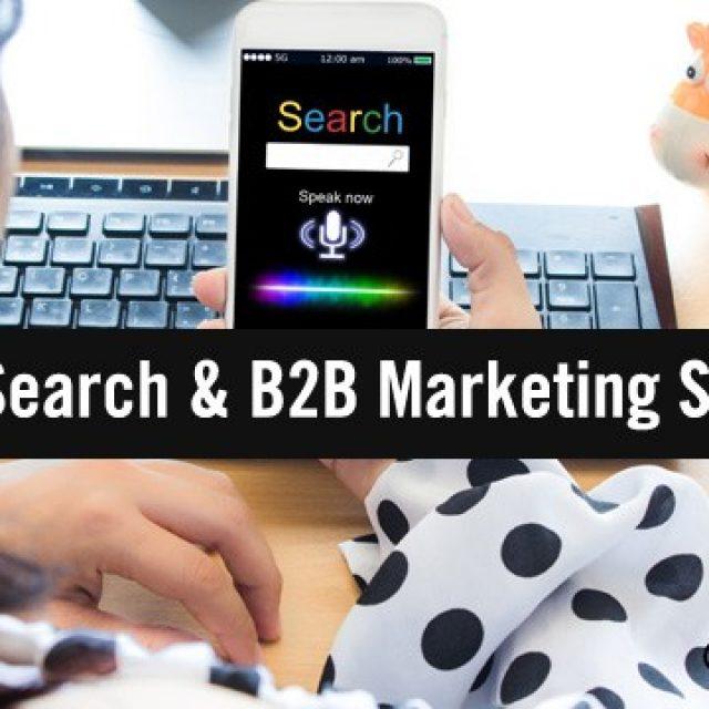 Hey Alexa: How Do I Bake Voice Search Into My B2B Marketing Strategy?