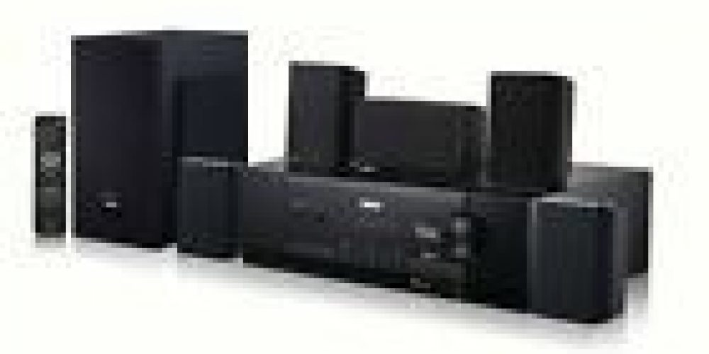 Theater System Home Bluetooth Speakers Surround Sound 5.1 Channel TV 1000W RCA