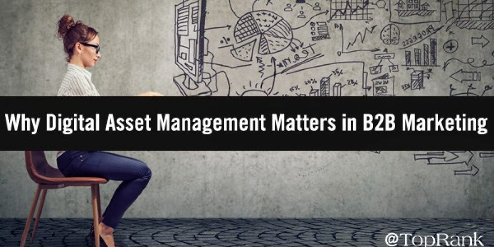 Why Digital Asset Management Matters in B2B Marketing
