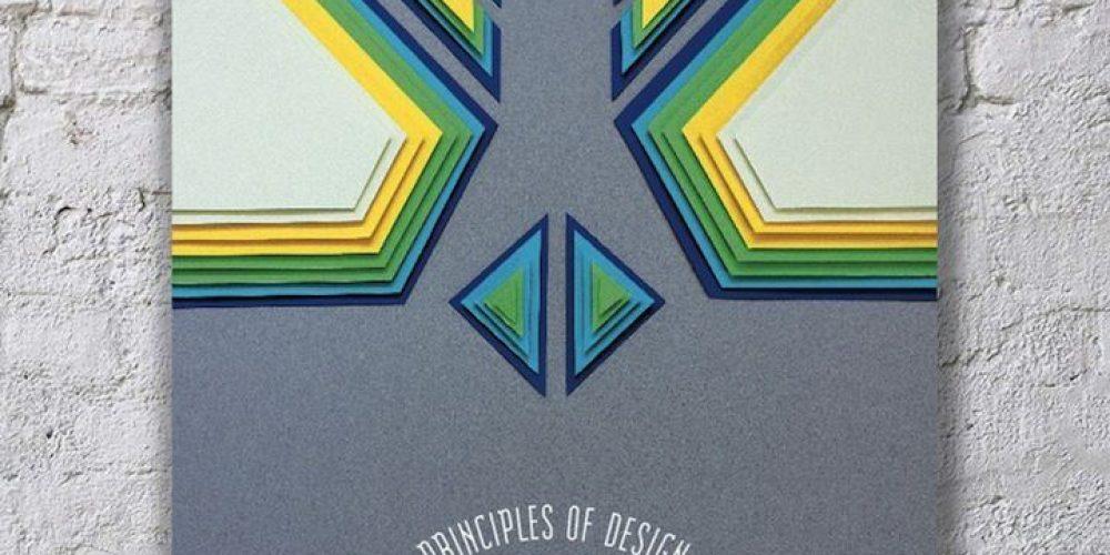 10 principios básicos del diseño convertidos en pósters