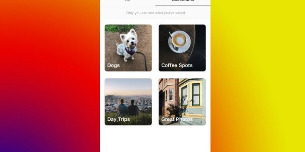 """Instagram trabaja en la función """"colecciones públicas"""" similar a Pinterest"""