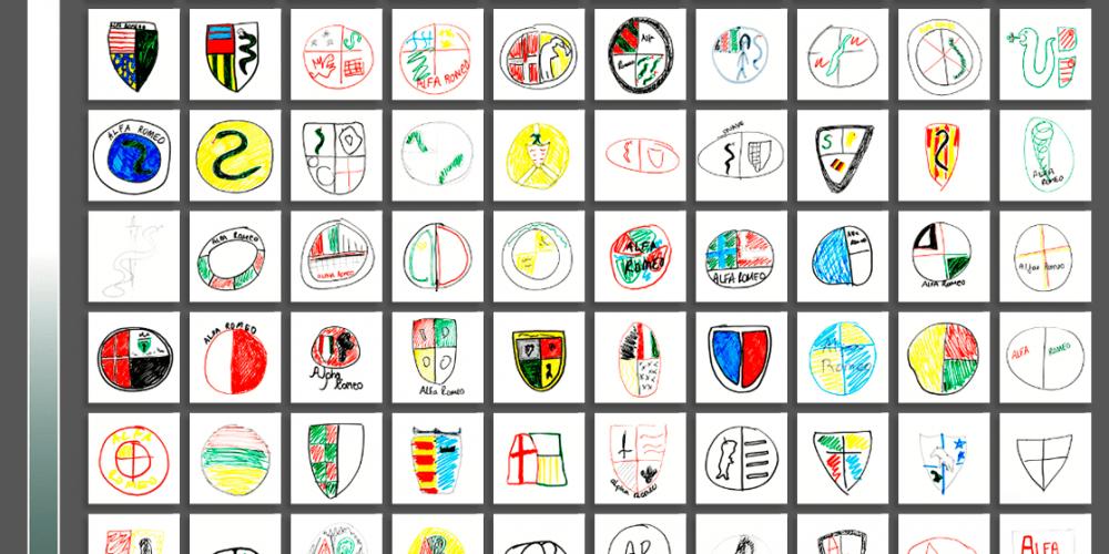 Pidieron a 100 personas que dibujaran de memoria los logos de algunas marcas de coche… y la cosa salió regular