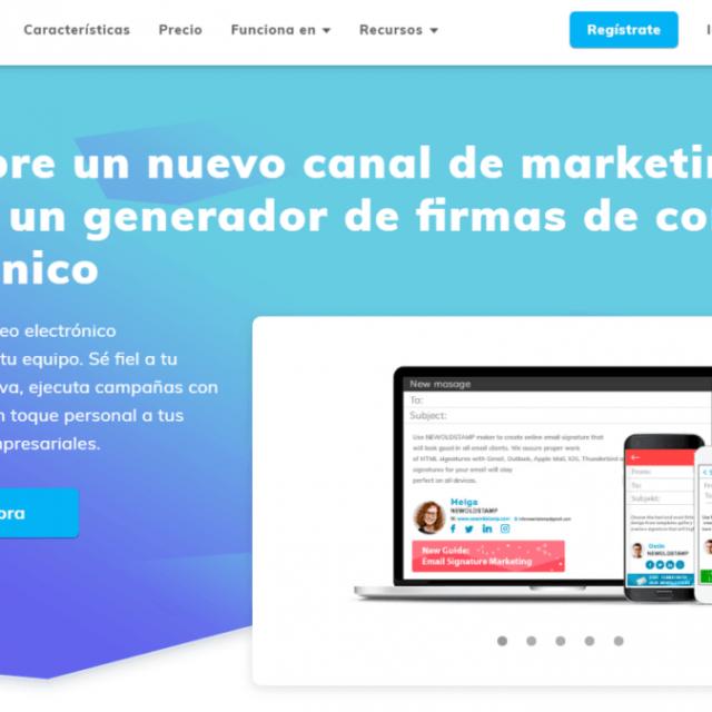 Haz de la firma de tu correo una herramienta de Marketing con NEWOLDSTAMP