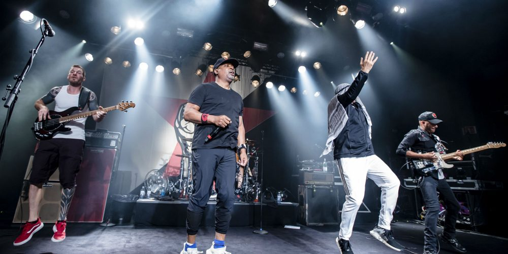 Watch Prophets of Rage perform 'Made With Hate' for the first time live at Mad Cool festival – NME Live