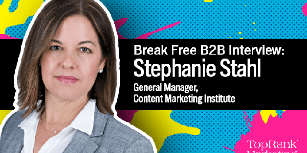 Break Free B2B Series: CMI's Stephanie Stahl on Data-Driven Event Planning and Promotion