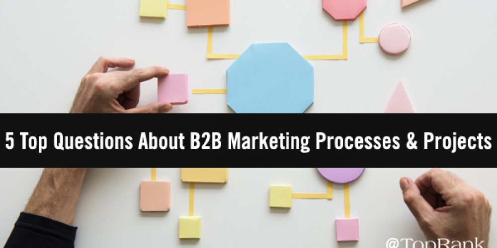 Project Management FAQ: Top Questions B2B Marketers Ask About Projects and Process